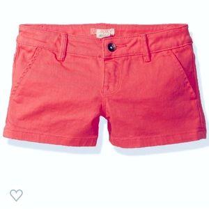 ROXY GIRL sugar coral shorts